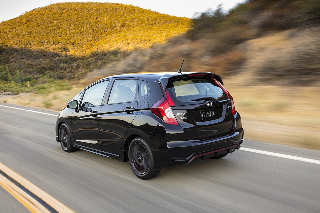 美國自2020年式Honda Fit開始LX、Sport兩車型不再提供選配Hon...