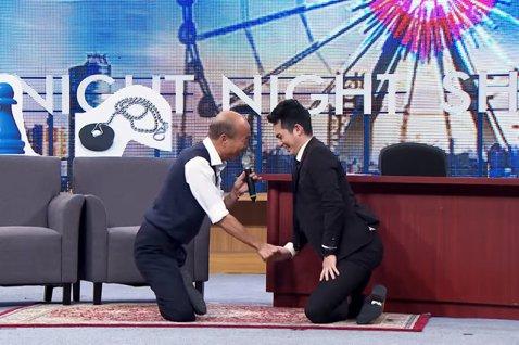 韓國瑜上博恩夜夜秀,為何能吸引年輕中間選民關注?