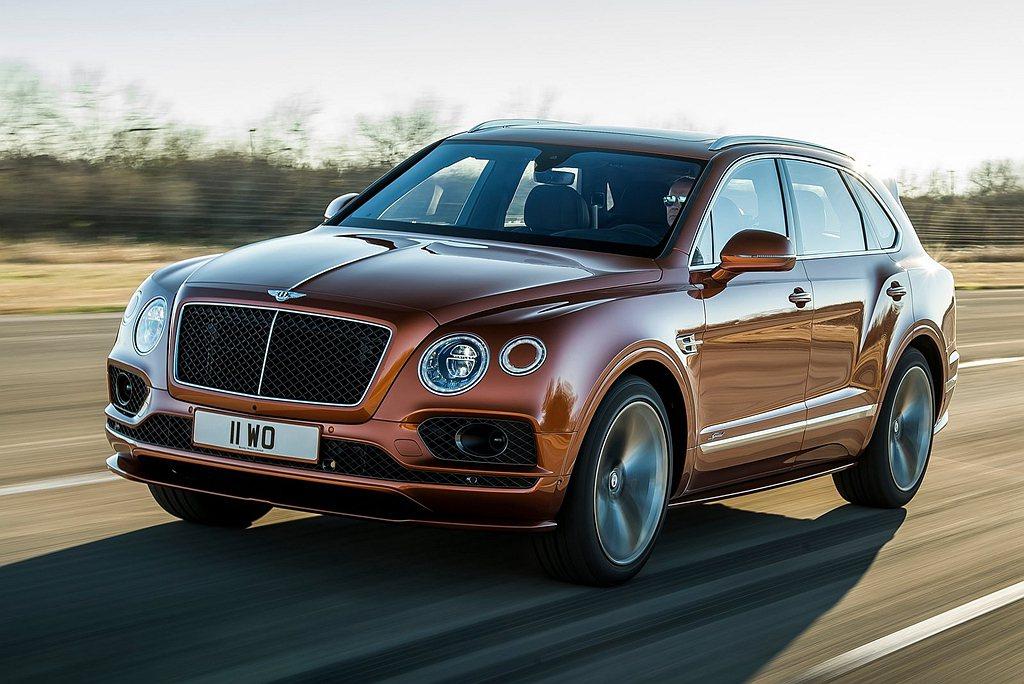 擁有全球最速SUV頭銜的Bentley Bentayga Speed,也將登上2...