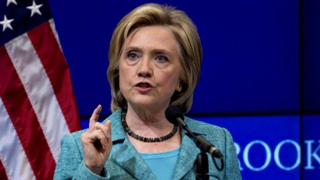 美國前國務卿希拉蕊.柯林頓。 圖/美聯社資料照片