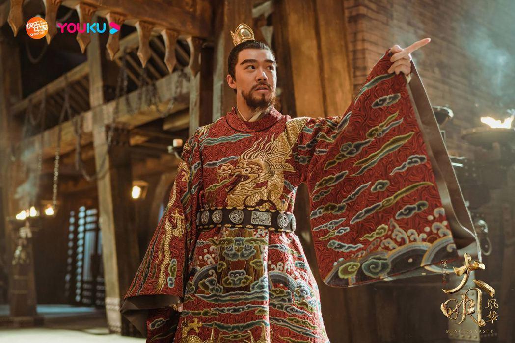 俞灝明在「大明風華」飾演「漢王」朱高熙。圖/擷自大明風華微博