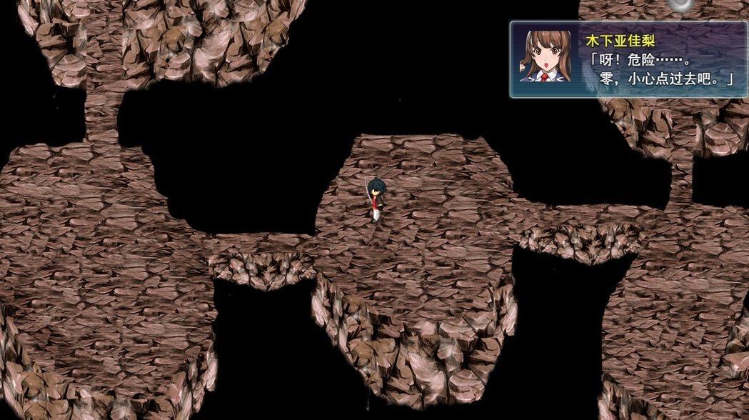 同行女角會在魅崎都探險時自動冒出一些小對話,常令人會心一笑。