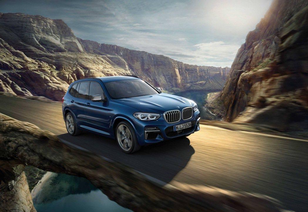 全新BMW X3 M40i XRace Edition將於2020 世界新車大展...