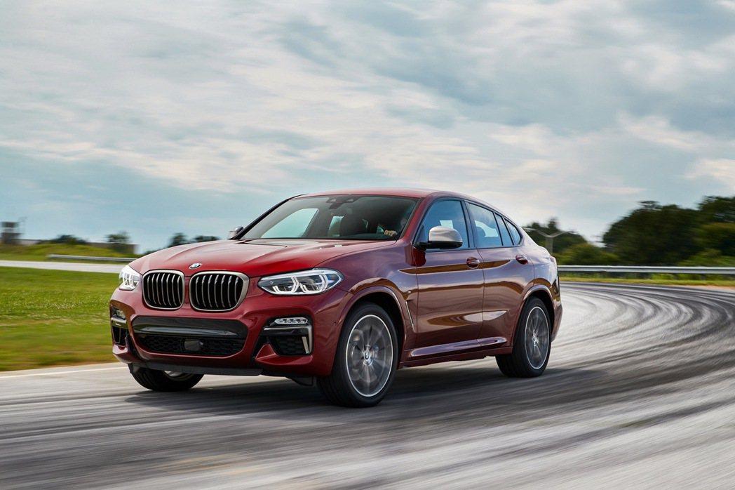 全新BMW X4 M40i XRace Edition 0-100 km h加速...