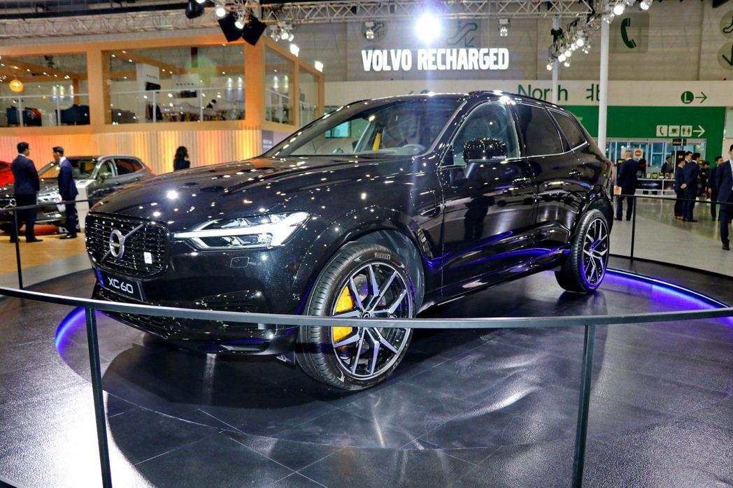 Volvo XC60 T8 Polestar Engineered。 記者陳威任...