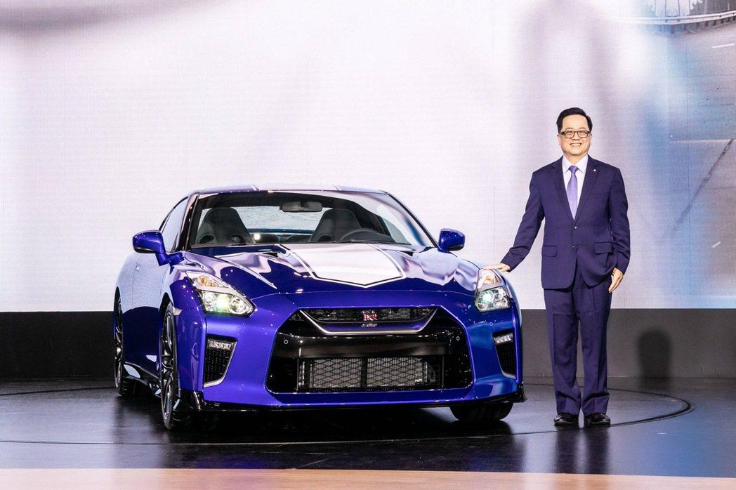 裕隆日產汽車特別向日產母廠爭取到2台NISSAN GT-R 50週年紀念款限量配...