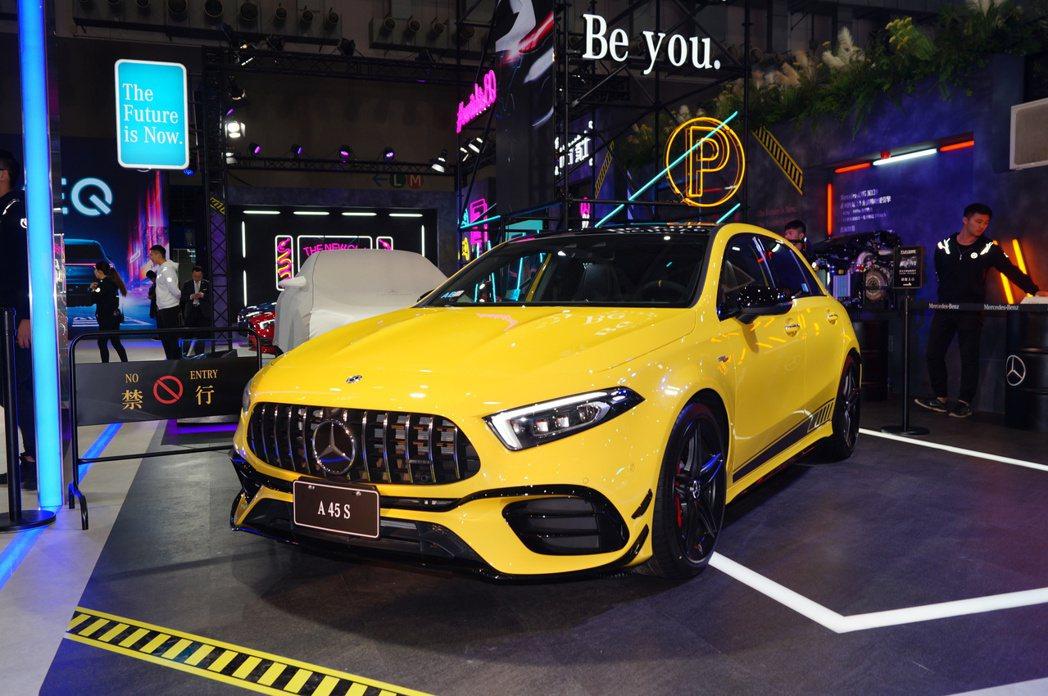 Mercedes-Benz AMG A45 S。 記者趙駿宏/攝影