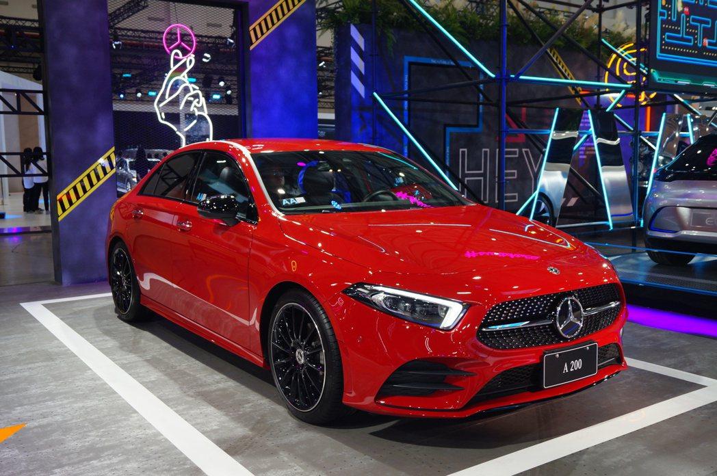 Mercedes-Benz A200 Sedan。 記者趙駿宏/攝影