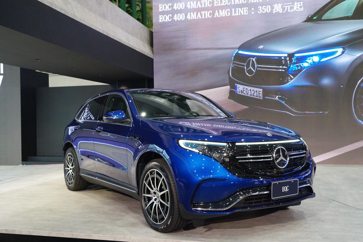 【2020台北車展】Mercedes-Benz軍容盛大 EQ電動概念跨進台北 AMG眾車系華麗演出!