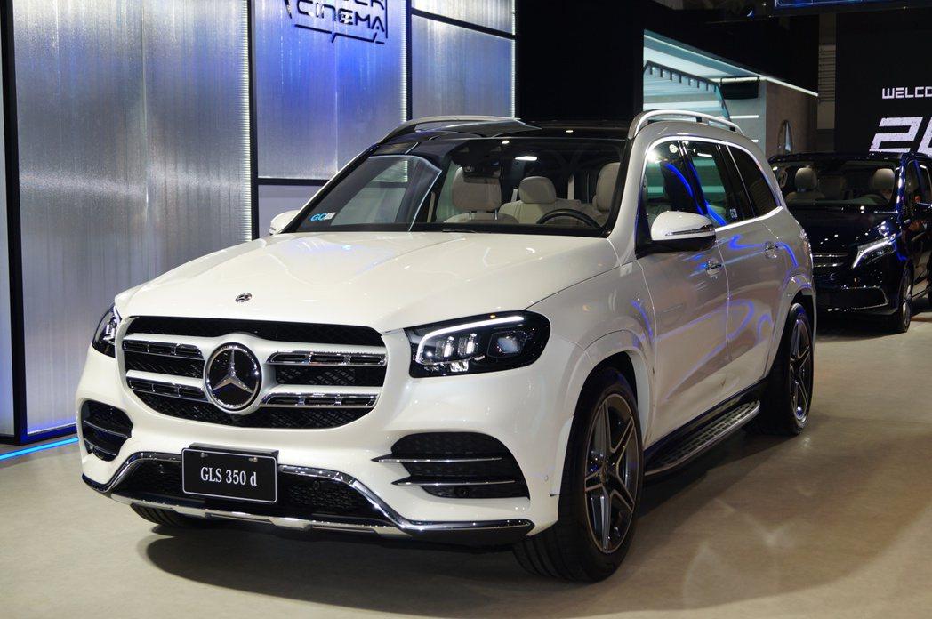 Mercedes-Benz CLS 350d。 記者趙駿宏/攝影