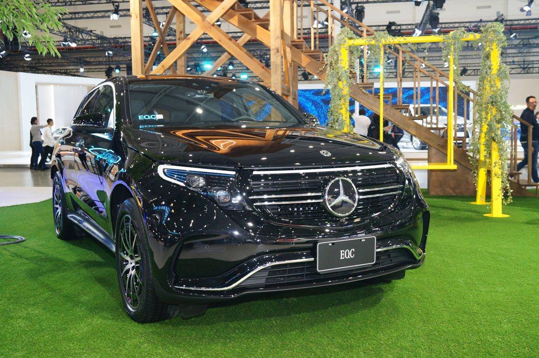 Mercedes-Benz EQC。 記者趙駿宏/攝影