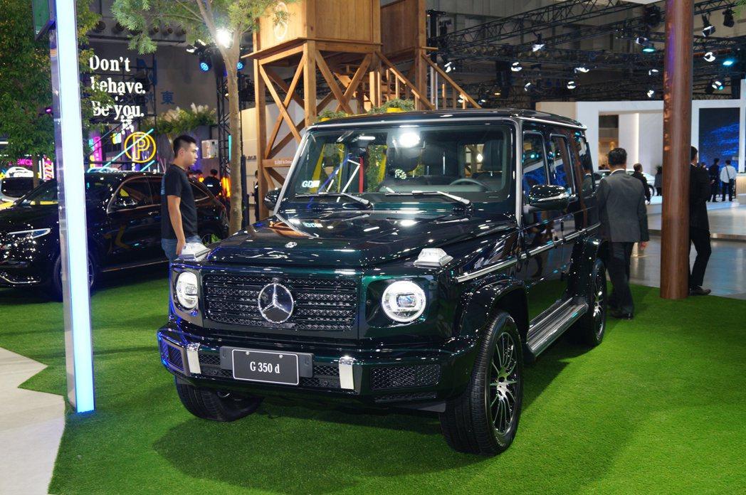 Mercedes-Benz G 350 D。 記者趙駿宏/攝影