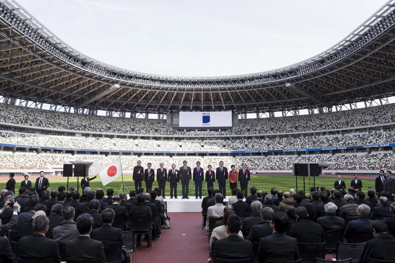 由大成建設承造的新國立體育場,本月15日舉行了峻工儀式。  歐新社