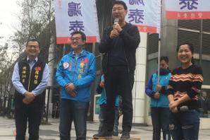 批反滲透法反民主 <u>趙少康</u>:絕不能讓民進黨立院過半