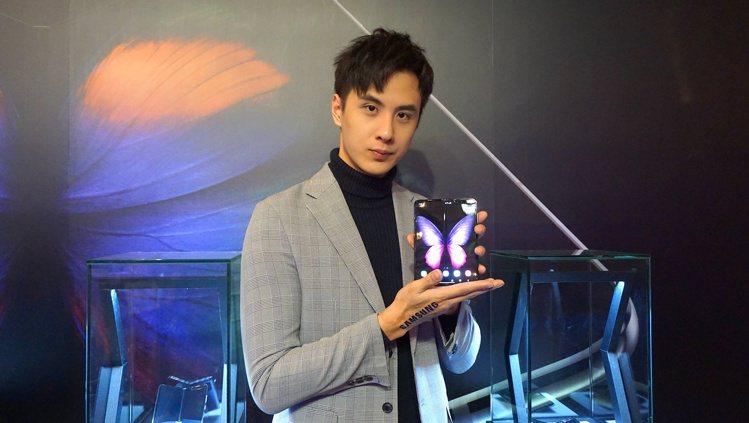 三星電子宣布Galaxy Fold將於2020年1月4日正式在台上市。記者黃筱晴...