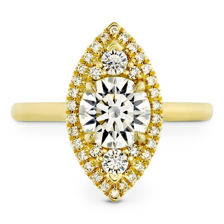 Hearts On Fire,JULIETTE系列戒指,約85萬1,000元。圖...