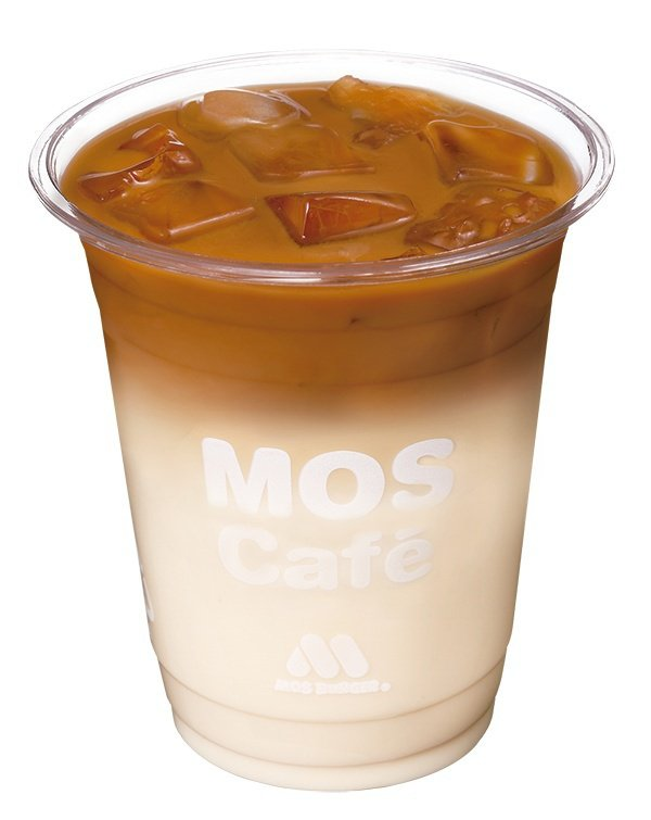 新品「摩力拿鐵咖啡」12月27日起部份門市現貨販售。圖/摩斯漢堡提供