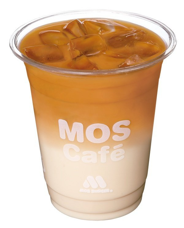 自備環保杯購入「摩力茶歐蕾」享中杯嚐鮮價75元。圖/摩斯漢堡提供