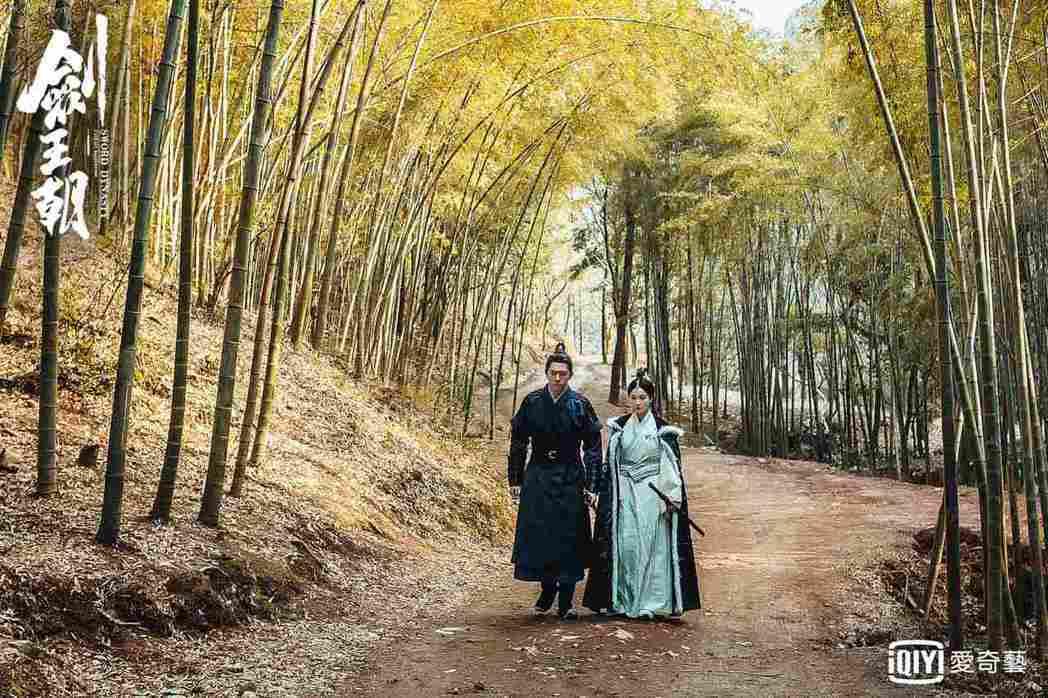李現(左)、李一桐「姨甥戀」終於有進展。圖/愛奇藝台灣站提供