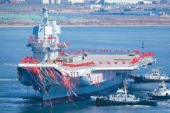 共軍:山東艦將依形勢部署 形成編隊作戰能力