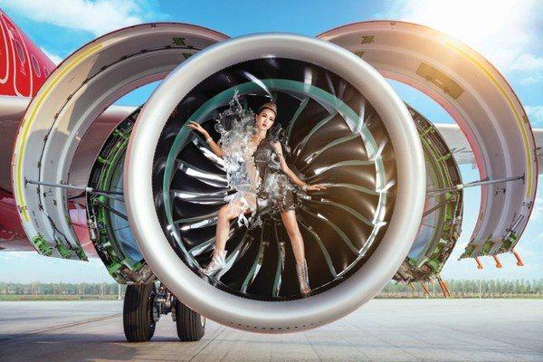 越捷航空2020桌曆以環保意識為主題。圖/越捷航空提供