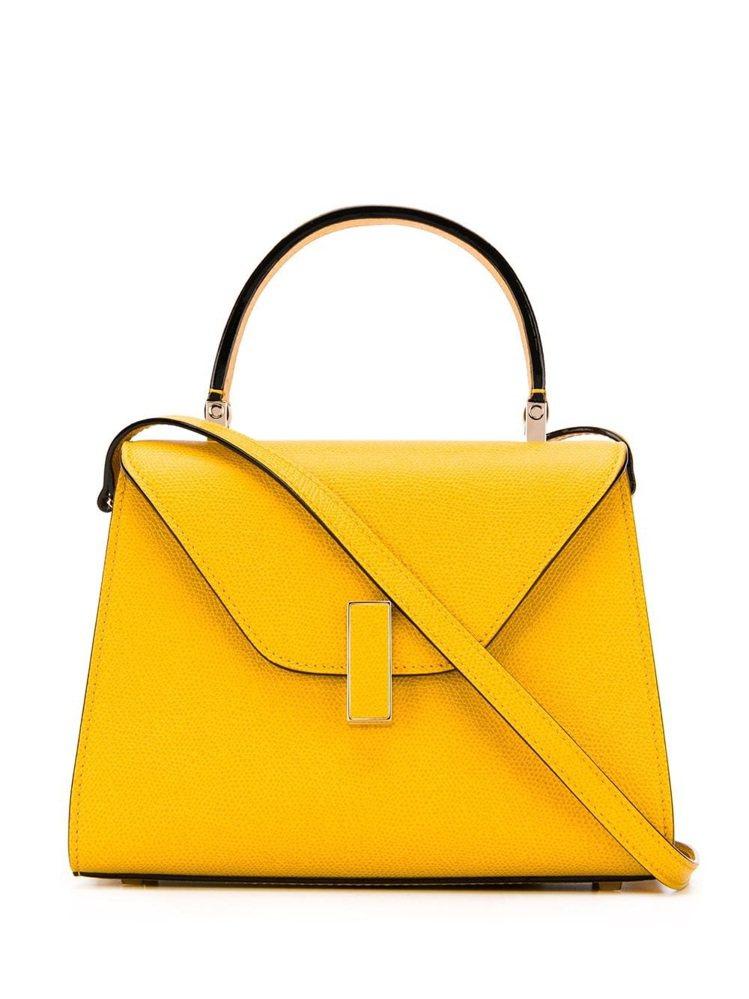 Valextra經典Iside艷黃,售價96,980元。圖/ART HAUS提供