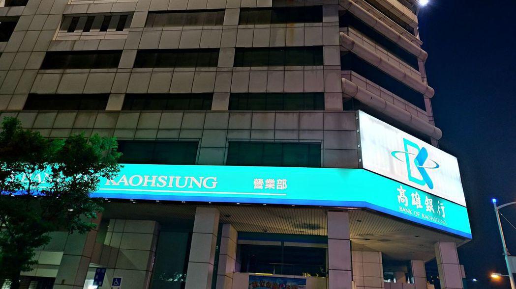 昨天爆出高雄市對高雄銀行調查,發現慶富關係企業慶洋投資的八點三億申貸案先簽約、再...