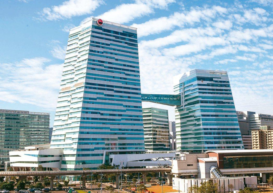 南港未來可能成為下個信義區。圖為中信南港金融園區。 (本報系資料庫)