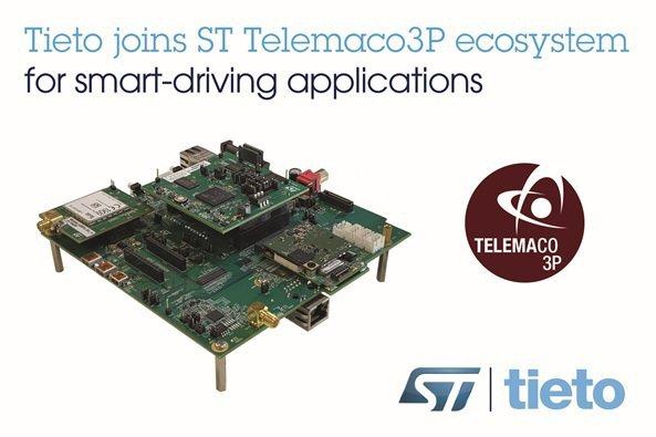 Tieto與意法半導體攜手合作,加速汽車中央控制單元的開發並提升駕乘與數據的安全...