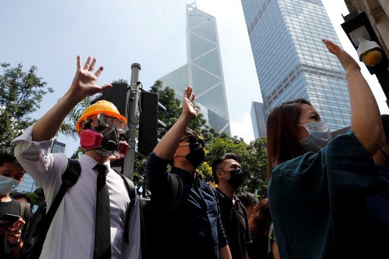 反送中後香港社會動盪仍未平息。 路透社