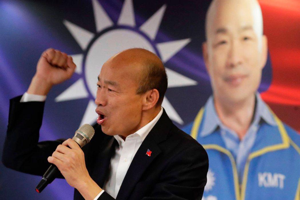 即使韓國瑜操弄民調讓棄保效更為困難,但宋楚瑜的民調仍逐漸下滑。 圖/歐新社