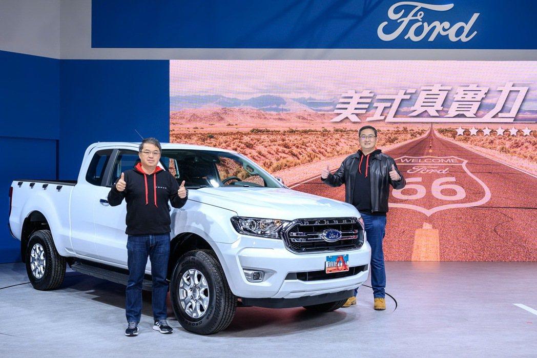 全新導入台灣市場的Ford Ranger XLT Super Cab全能皮卡於2...
