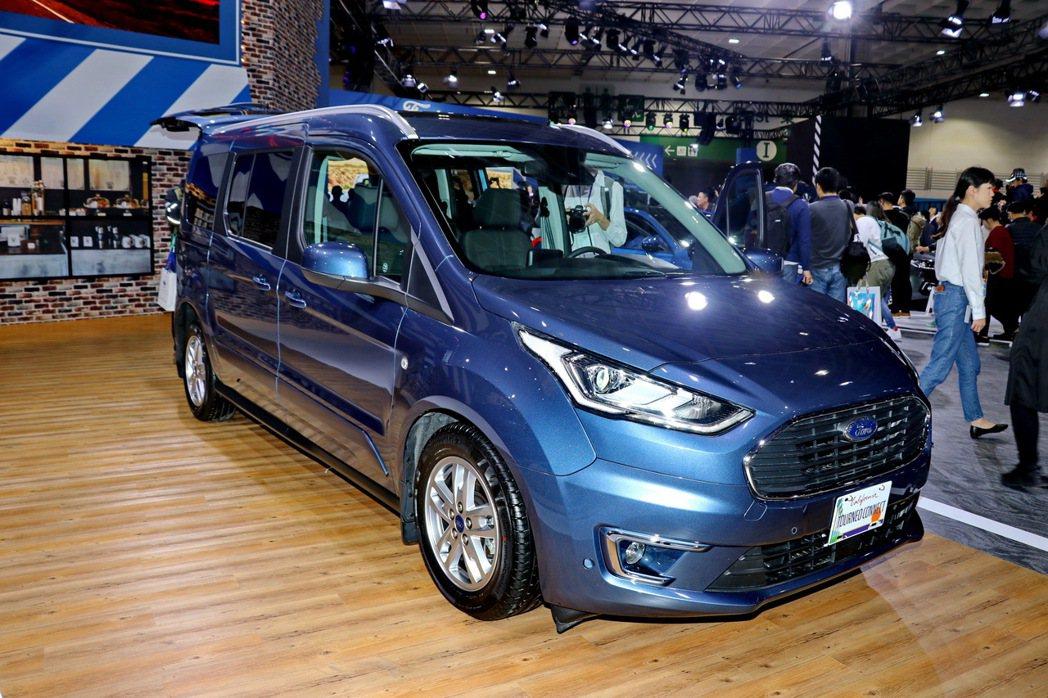Ford Tourneo Connect明年有機會導入台灣市場。 記者陳威任/攝...