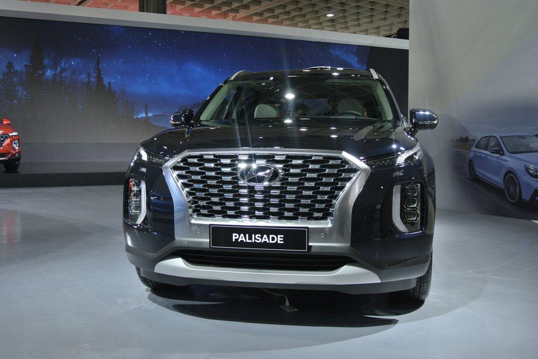 Hyundai Palisade。 記者黃俐嘉/攝影