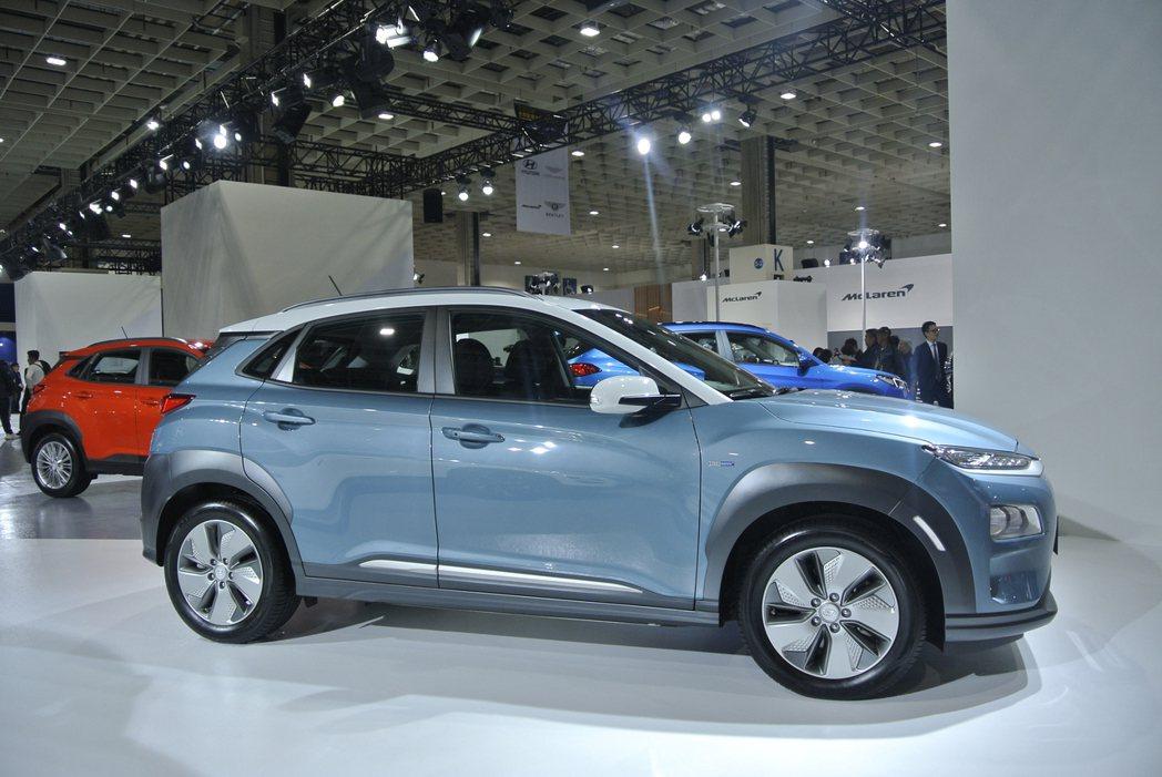 Hyundai Kona Electric。 記者黃俐嘉/攝影