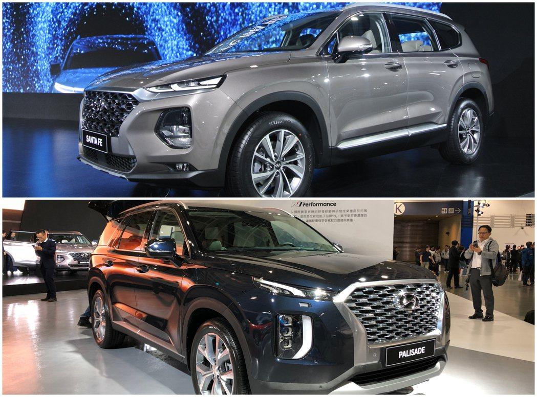 Hyundai Santa Fe與Hyundai Palisade今日正式於20...