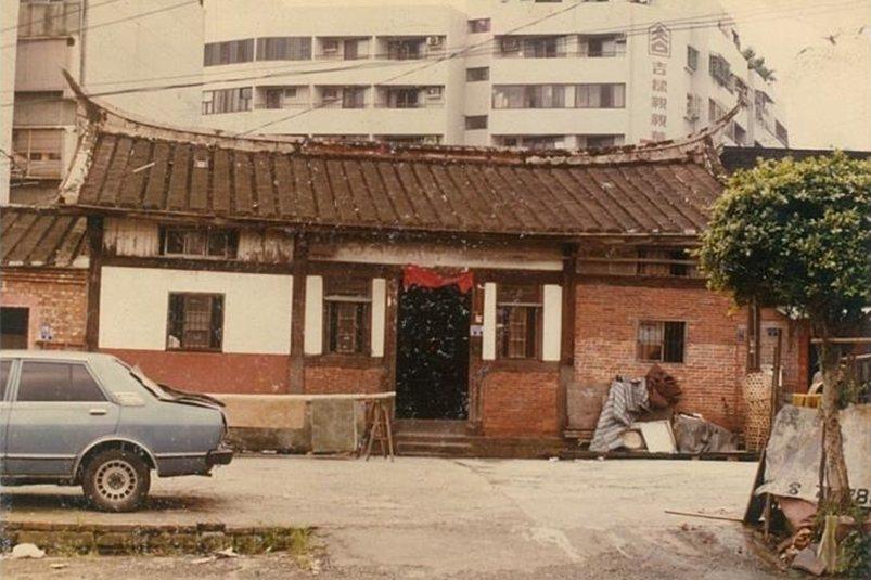 大安區高家古厝昔日樣貌。 圖/高家保存方提供