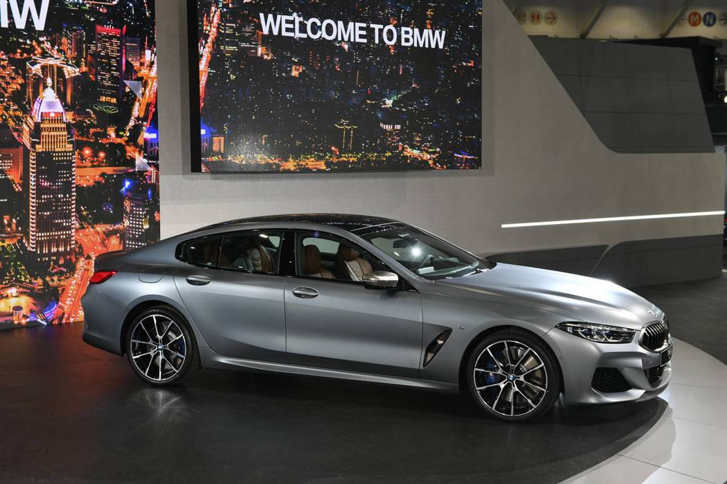 BMW 8 Series Gran Coupe。 圖/汎德提供