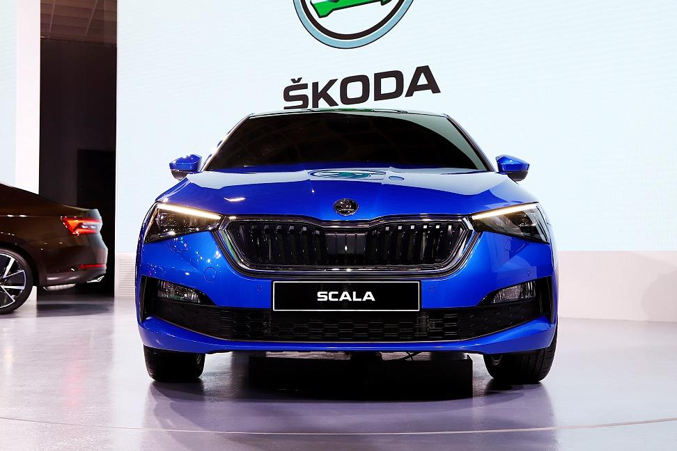 【2020台北車展】預約2020!Skoda展示全新Scala掀背、小改款Superb房車