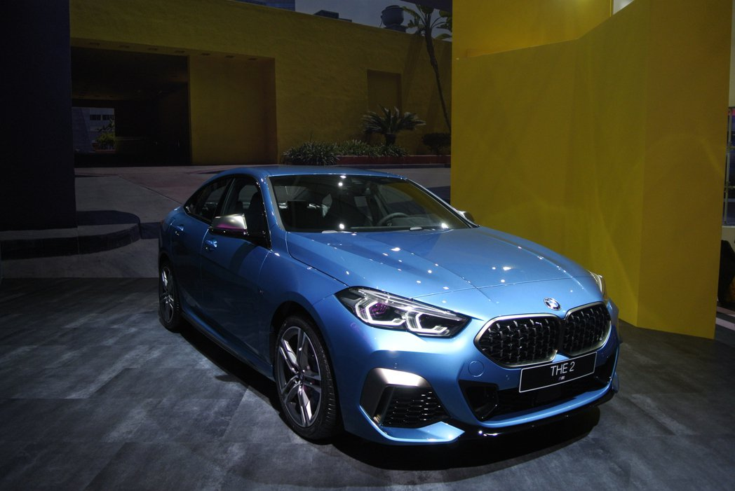 BMW M235i xDrive Gran Coupe。 記者黃俐嘉/攝影