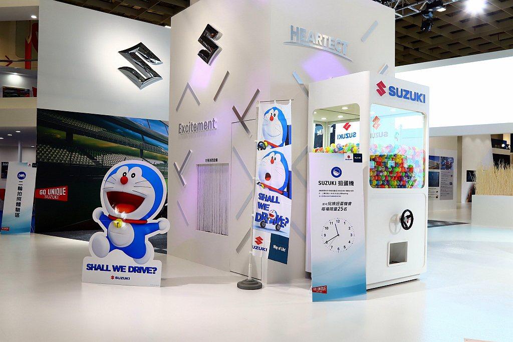 Suzuki邀請廣受大小朋友喜愛的「哆啦A夢」於2020世界新車大展Suzuki...