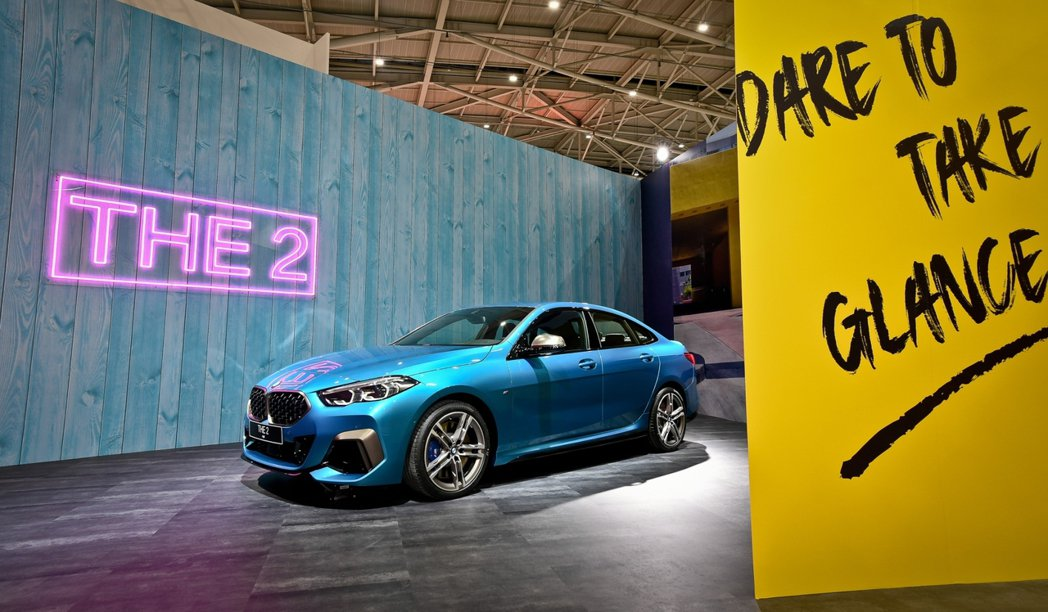 BMW M235i xDrive Gran Coupe。 圖/汎德提供