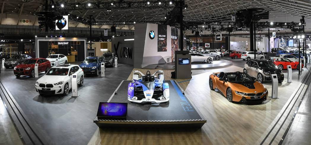 2020世界新車大展,BMW展現品牌未來願景。 圖/汎德提供