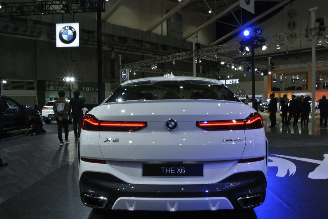 BMW X6。 記者黃俐嘉/攝影