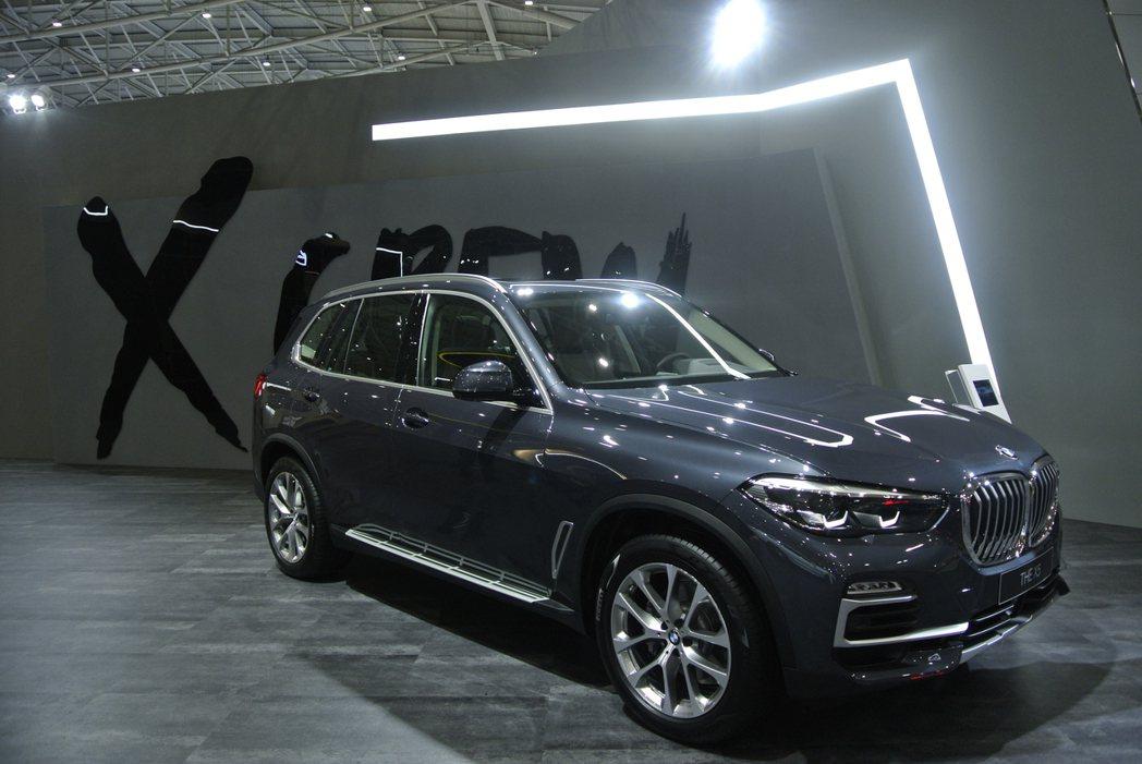 BMW X5。 記者黃俐嘉/攝影