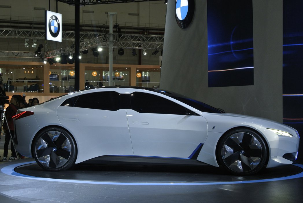 BMW i Vision Dynamics Concept。 記者黃俐嘉/攝影