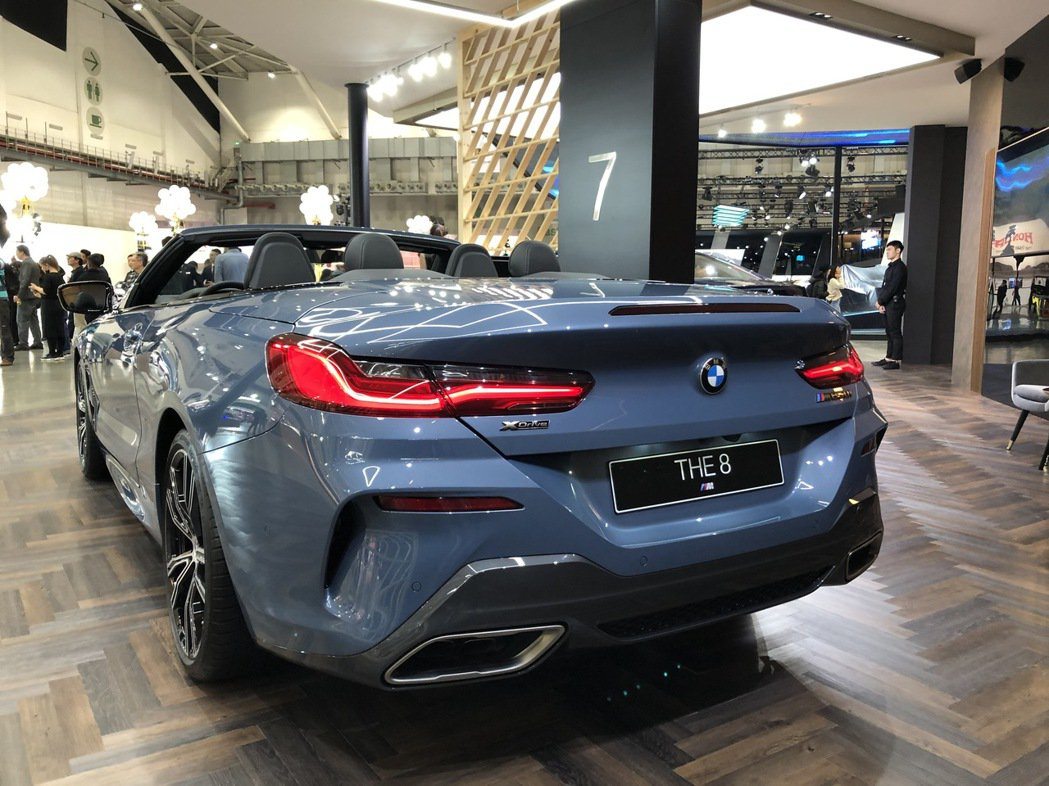 BMW 8 Series Convertible。 記者黃俐嘉/攝影