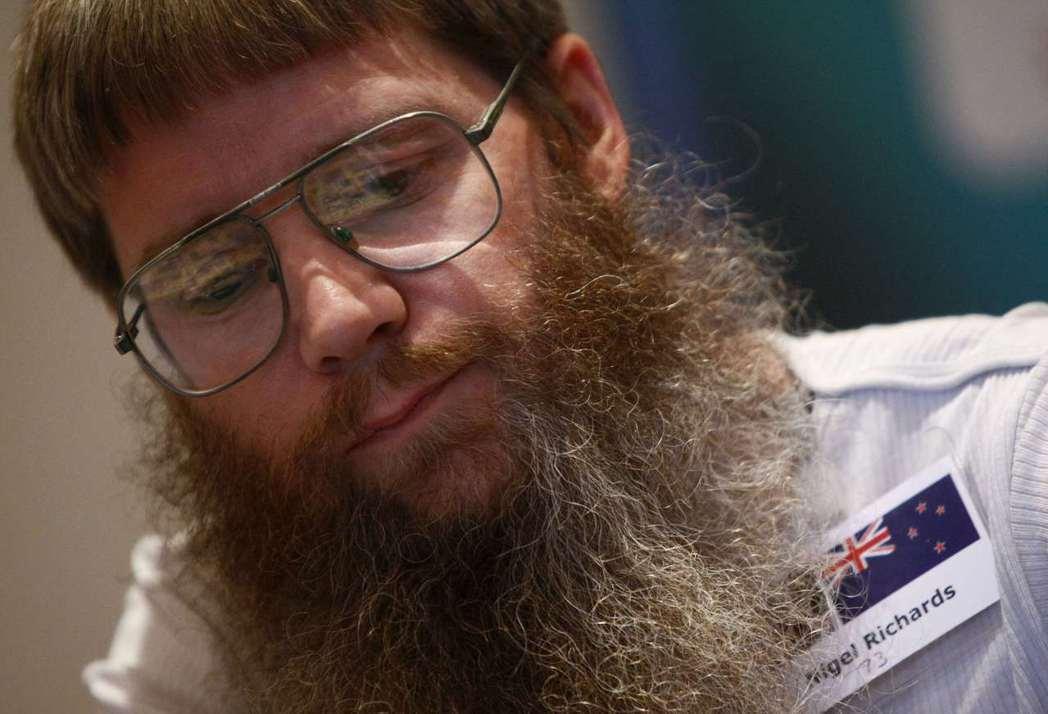 紐西蘭的理查茲曾在世界拼字比賽拿下5次冠軍。 (路透)