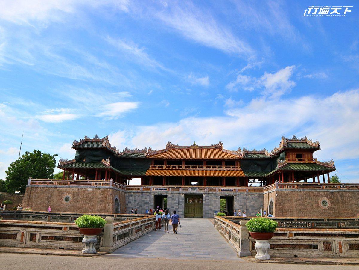 大內皇城緬懷最後阮氏王朝的風華,感受小故宮的文化氣息。