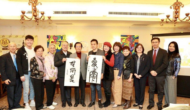 施振榮、陳郁秀、藝術家李柏毅與udn買東西歲末跨界挺公益。udn買東西提供